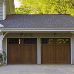 What are all the things that should be taken care of in the case of garage doors?